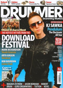 Drummer Magazine - July 2011