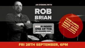 Planet Drum London - Rob Brian Masterclass. @ Planet Drum | England | United Kingdom