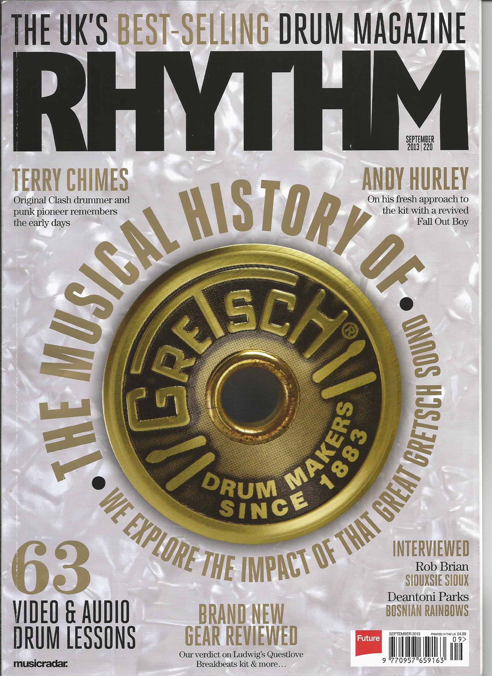 Rhythm Magazine - September 2013