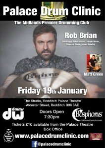 Palace Drum Clinic - Robert Brian @ The Studio, Palace Theatre. | England | United Kingdom
