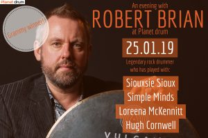 Robert Brian Drum Masterclass - Planet Drum. @ The Crypt
