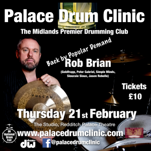 Palace Drum Clinic! @ The Palace Theatre,